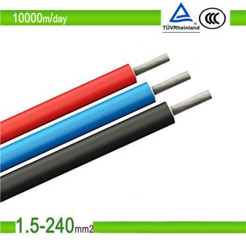 Солнечная система 10 мм 6 мм 4 мм фотоэлектрический кабель для солнечных батарей (10 мм)
