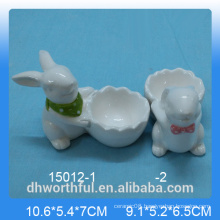 Rabbit series egg cup for kitchen decoration