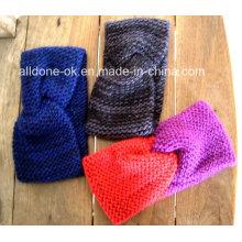 Новый дизайн Мода Женская рука Трикотажная повязка Neckwarmer Turban