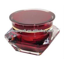 Diamond Cosmetic Acrylic Jar 5G 10G 15G 30G 50G