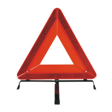 Road emergency foldable car safety warning triangle