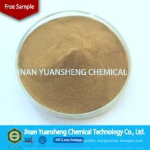 Yellow Brown Dust Suppression Feed Binder of Calcium Lignosulphonate CF-5