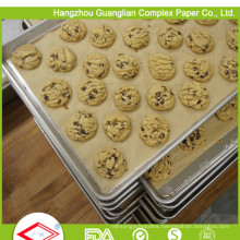 40cm X 60cm Unbleached Baking Paper in Sheets with Silicone Treated