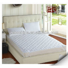 poly/cotton quilted mattress protector for hotel mattress