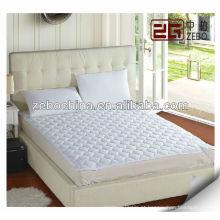 Poli / algodão acolchoado protetor de colchão para o hotel colchão