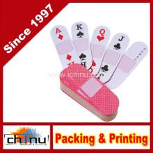12 baralhos de plataforma em forma de cartas de jogar poker (430043)