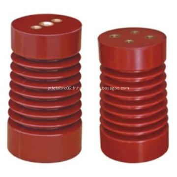 Appui d'isolateur de barre omnibus de résine époxyde à haute tension