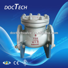 Hot Sales 4 inch Carbon Steel Flange Check Valve Big Discount Made in China