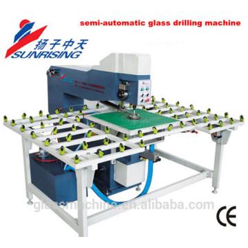 YZ220 cristal horizontal semiautomática máquina de perforación