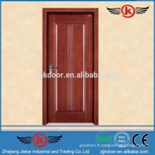 JK-SD9002 dessins simples de portes de chambre / porte en bois massif sculpté