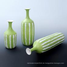 Hersteller von Keramik Custom Art Crafts Vase für Gartendekoration (P17K)