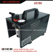 1/6HP Portable mini compressor with protection