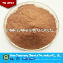 Lignosulfonate de calcium d'agent de renforcement en céramique d'additif chimique