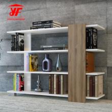 Diseño de soporte de altavoz de estantería de tamaño estándar de madera