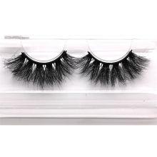 3D067H Hitomi 100% Mink False Eyelashes soft natural mink eyelashes Fluffy 25mm Magnetic Mink Eyelashes