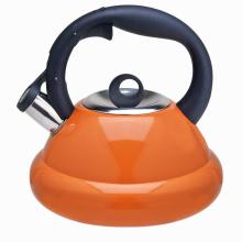 Stainless steel coffee stovetop tea kettle orange