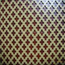 Malla metálica perforada de agujero redondo de acero inoxidable