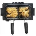 3L manual de controle de aço inoxidável de habitação Fryer Deep Elétrica para frango