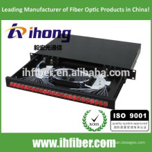 SC / FC / ST 19 '' estrutura padrão fibra óptica terminal caixa / ODF / patch painel