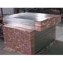 Varilla de cobre revestida de titanio Barra de titanio para electrodo