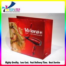 Embalaje de papel profesional Bolsas de regalo para el secador de pelo