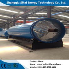 Pyrolysis Machine for Waste Rubber with Heating Method