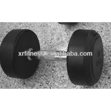 Supplier Gym Fixed Rubber Coated Hex Dumbbell