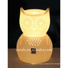 lovely owl ceramic table lamp