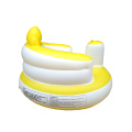 Cadeira de bebê inflável pura