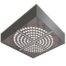 Elevator Car Ceiling with White Transparent Board (HDHM-415)