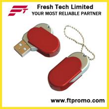 Werbe Metall Swivel USB Flash Drive für Custom (D204)