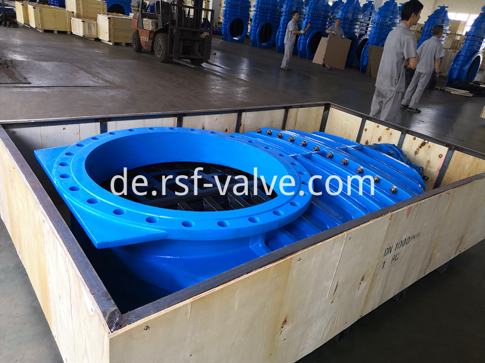 Resilient Gate Valve Gear Packaging