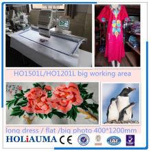 Top Quality Single Head Embroidery Machine/ Shoes Tubular Flat Garment T-Shirt Embroidery Machine