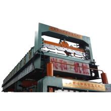 Petit pain de panneau de toiture en acier de couleur formant la machine