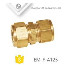 EM-F-A125 acoplamiento latón cobre rápido conector hembra rosca