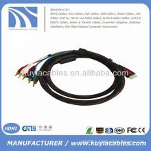 HDMI à 5 RCA RGB Audio Video Câble de composant AV