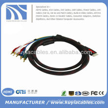 HDMI to 5 RCA RGB Audio Video AV Component Cable
