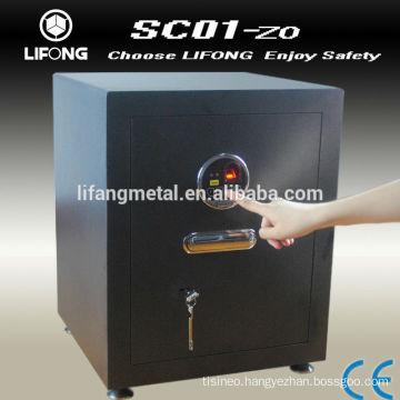 Biometric fingerprint safety deposit box