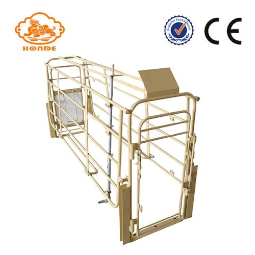 Power Painted Q235 Steel Farrowing Stall For Pig