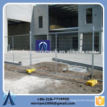 reasonable price Australia hot-dipped galvanized PVC coated welded temporary fence (manufacturer)