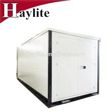 Contenedor de almacenamiento plegable plegable almacén móvil de paquete plano