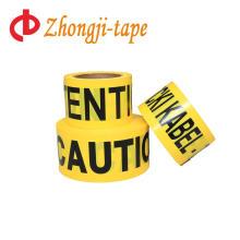 ярко-желтый баррикада предупреждение ленты