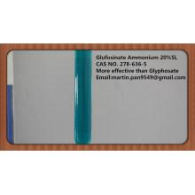 Amplio espectro, herbicida eficaz Glufosinato-amonio 20% SL, CAS - 77182-82-2