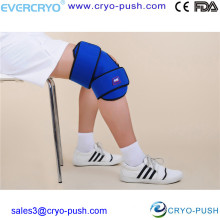 Reusable Cold Compress Gel Bead Ice Pack Knee Brace