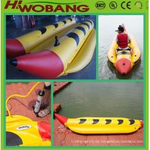 Banana-Boat Familienstil aufblasbare PVC/Wassersport