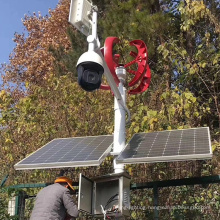Wind and solar hybrid monitoring system