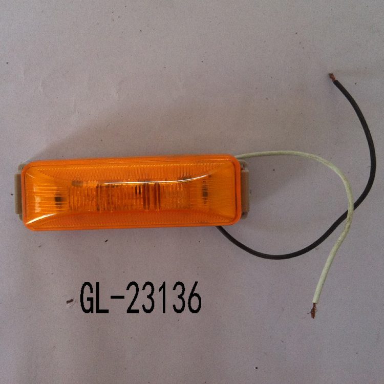 Yellow Light forTrailer Parts Made in China