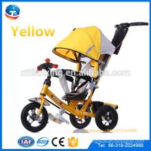 China-Lieferanten-Großhandelsmetallbaby-Dreirad für Kinder, Spaziergängerbaby-Kinderwagen-Dreirad, Kinder trike, Kinder Dreirad-Gummi-Rad