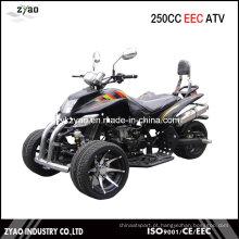 250cc CEE Trike ATV Quad Venda quente na Alemanha 14inch Alloy Wheel Water Cooled Engine