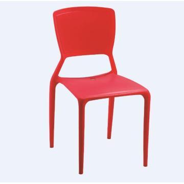 Chaises en plastique antidérapantes